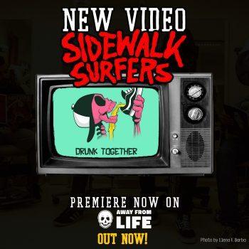 Sidwalk Surfers - Video-Premiere Facebook und Instagram Feed (Out Now)